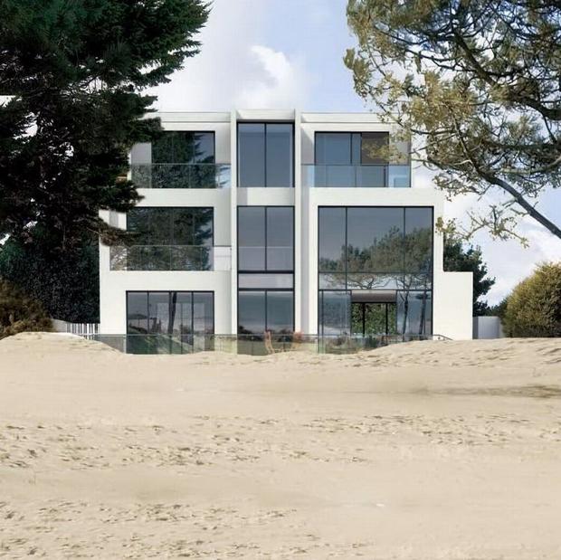 banks road sandbanks poole dorset bh13 5 bedroo ebay. Black Bedroom Furniture Sets. Home Design Ideas