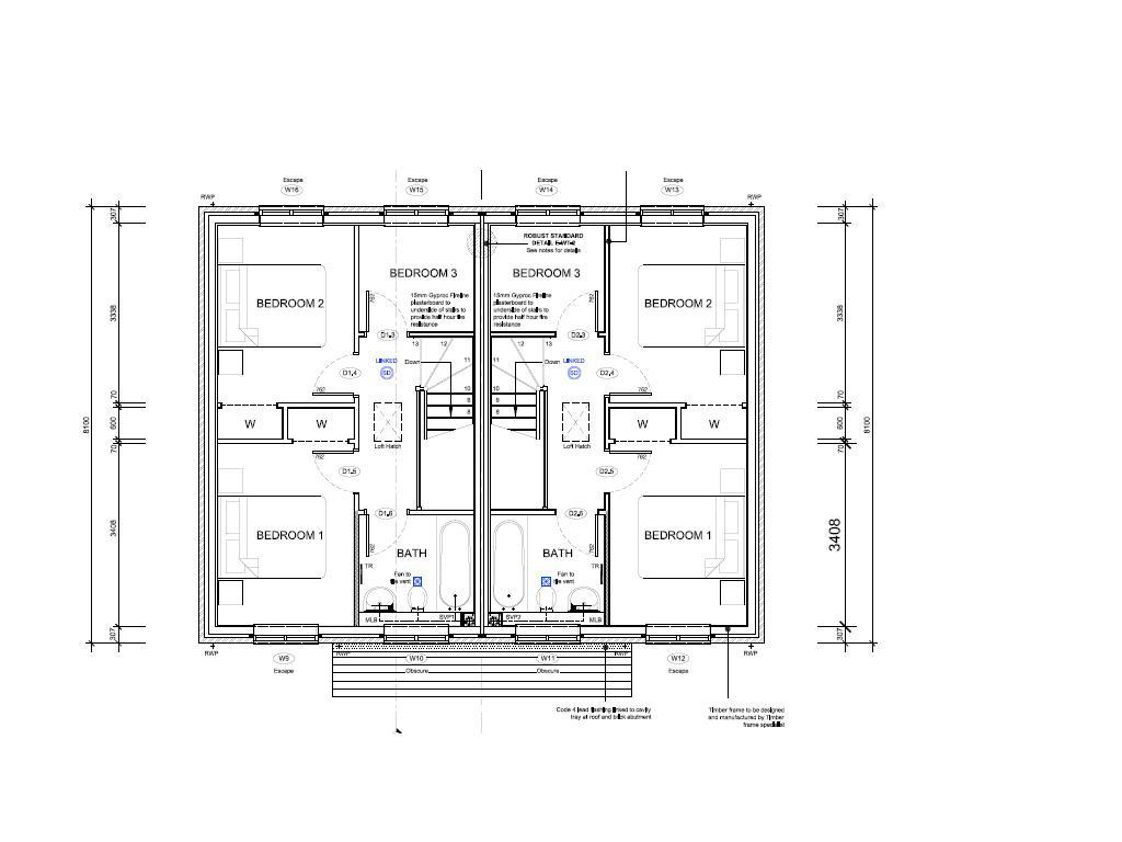 18 Spectacular Semi Detached House Plan House Plans 3735